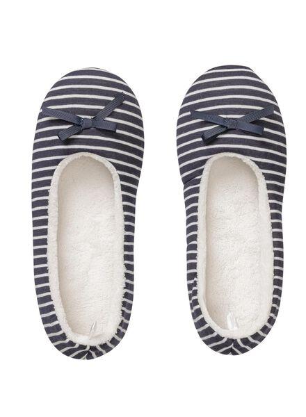 women's slippers blue blue - 1000006336 - hema