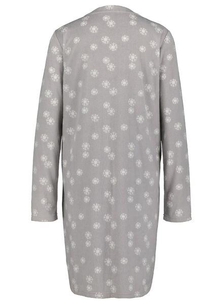 women's nightshirt grey melange grey melange - 1000017232 - hema