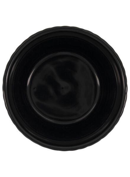 pot de fleurs Ø 13.5 cm - céramique - noir/blanc - 13392076 - HEMA