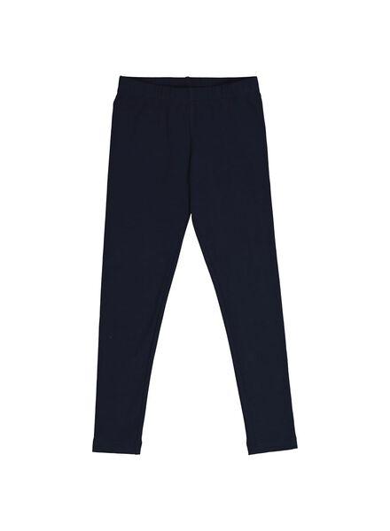 children's leggings dark blue dark blue - 1000013678 - hema