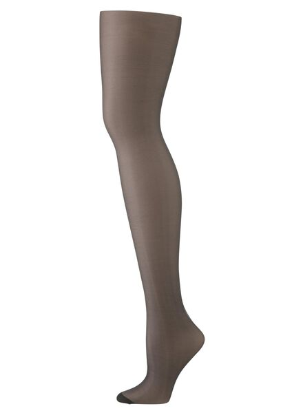 transparent tights 7 denier black black - 1000006411 - hema