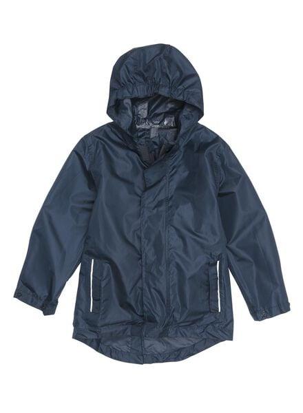 Kinder-Regenjacke, faltbar blau 110-116 - 34490042 - HEMA