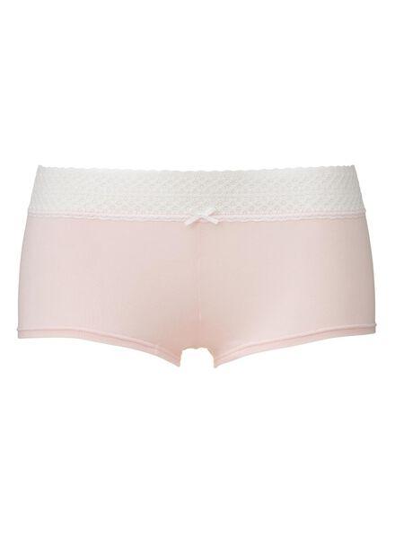 women's boxer shorts light pink light pink - 1000006567 - hema