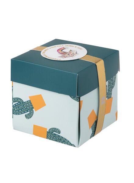Überraschungs-Schachtel, mittel, 10 x 10 x 10 cm - 60800611 - HEMA