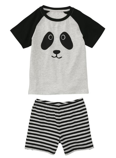 children's pyjamas black/white black/white - 1000006687 - hema