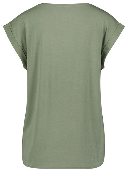 haut femme vert clair - 1000023958 - HEMA