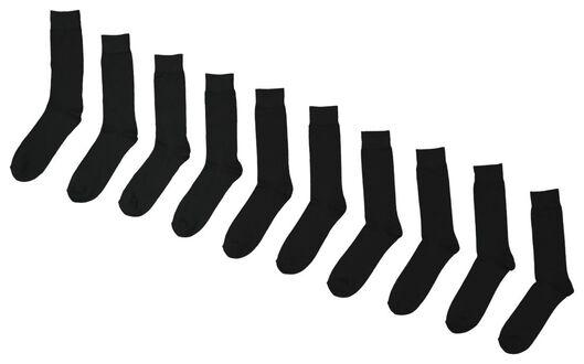 Image of HEMA 10-pack Men's Socks Black (black)