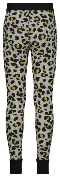 children's leggings - mini-me grey grey - 1000019362 - hema