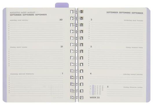 agenda scolaire 21/22 dégradé de couleur 18.5x15 - 14500532 - HEMA