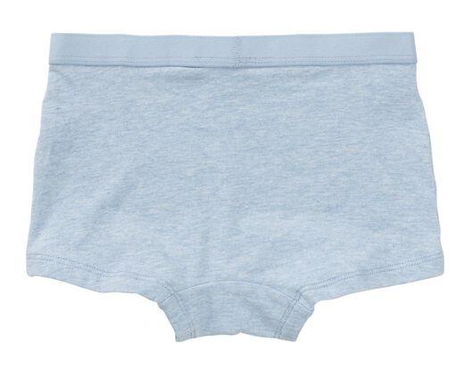 3-pack children's boxers dark blue dark blue - 1000017998 - hema