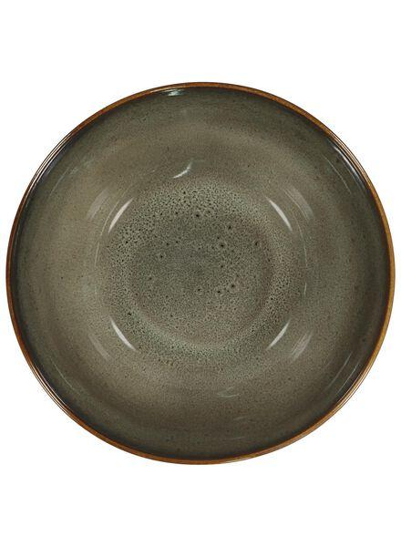 bowl - 26 cm - Porto - reactive glaze - taupe - 9602056 - hema