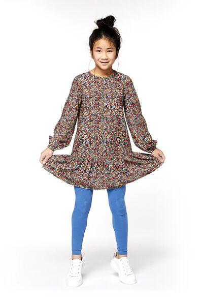 children's leggings mid blue mid blue - 1000017846 - hema