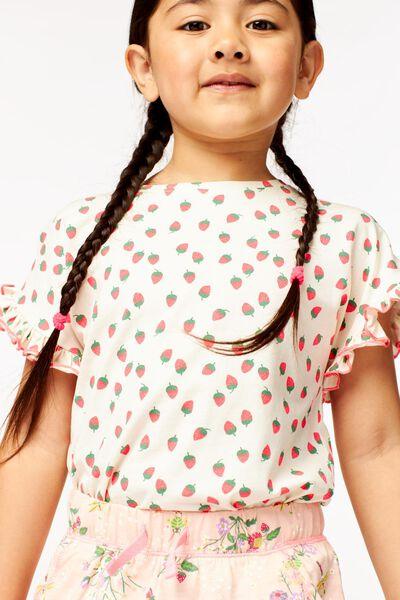 t-shirt enfant blanc cassé blanc cassé - 1000023700 - HEMA