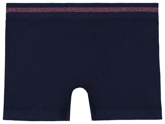 2 boxers enfant sans couture bleu foncé bleu foncé - 1000023462 - HEMA