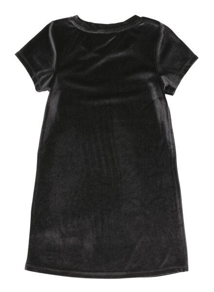 children's dress black black - 1000005898 - hema