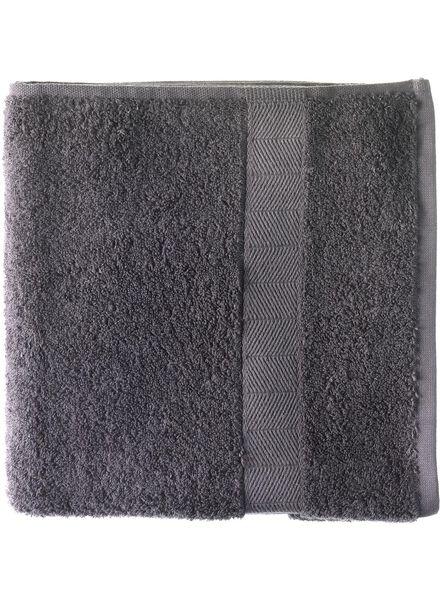 Duschtuch - 70x140cm - schwere Qualität - dunkelgrau - 5214602 - HEMA