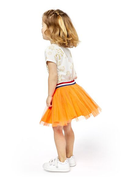 children's skirt orange orange - 1000018940 - hema