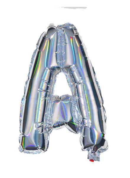 ballon alu lettre A - argenté - 14200203 - HEMA