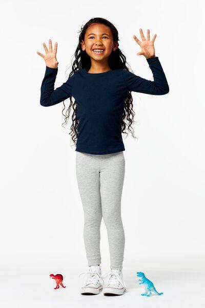 Kinder-Shirt dunkelblau dunkelblau - 1000013676 - HEMA