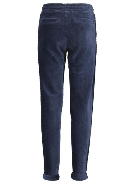 pantalon sweat enfant bleu foncé bleu foncé - 1000015571 - HEMA