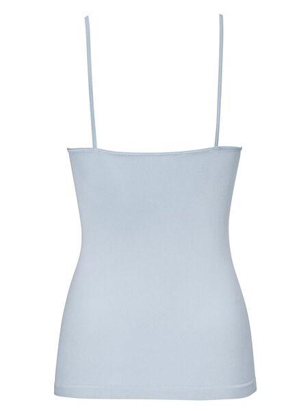 women's vest seamless micro light blue light blue - 1000012315 - hema
