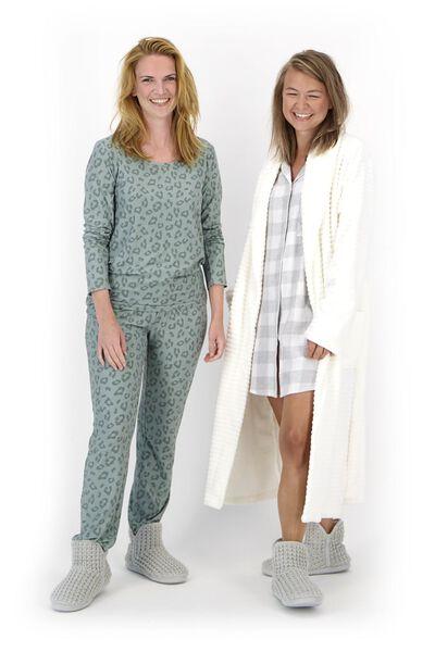 Damen-Nachthemd grau grau - 1000020265 - HEMA