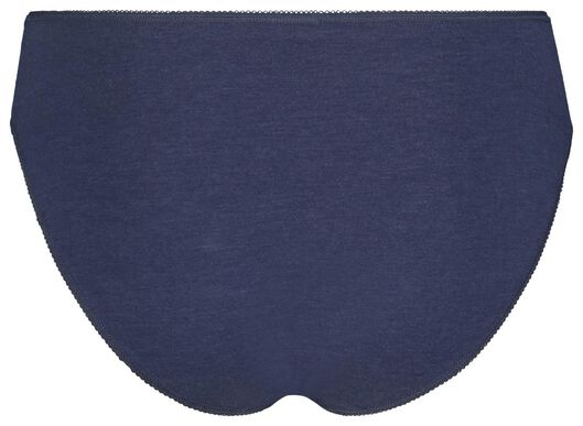 3-pack women's briefs blue blue - 1000018559 - hema