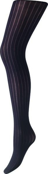 Fashion-Strumpfhose, Streifen, 50 Denier schwarz 36/38 - 4070351 - HEMA