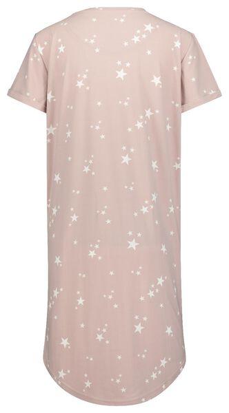 women's nightshirt micro pink pink - 1000020327 - hema