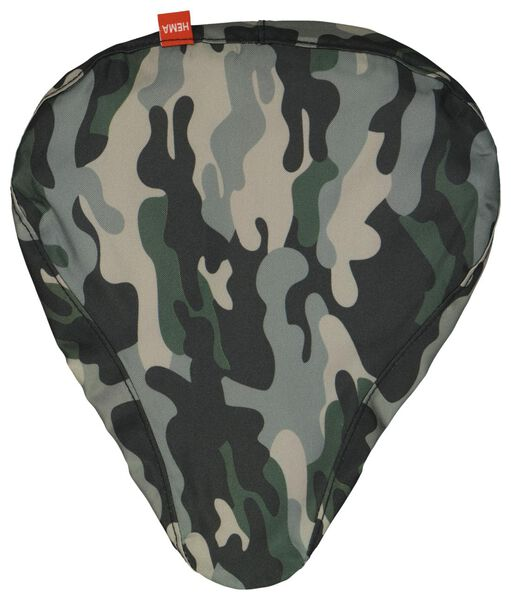 couvre-selle imperméable recyclée camouflage - 41120301 - HEMA