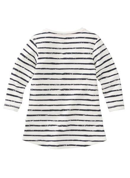 children's dress white white - 1000005835 - hema