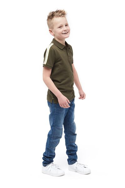 children's polo shirt green green - 1000017709 - hema