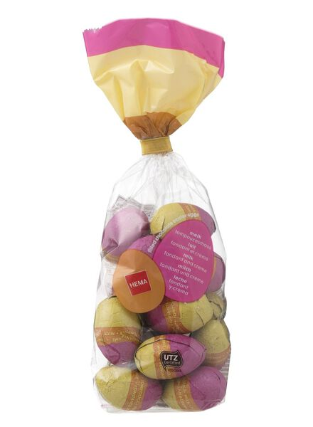 Easter eggs milk with cream slice flavour 200 grams - 10091034 - hema