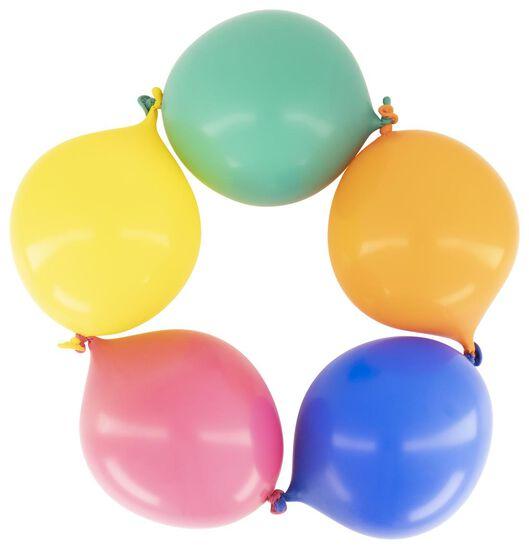 10 tie balloons - 25 cm - 14200306 - hema