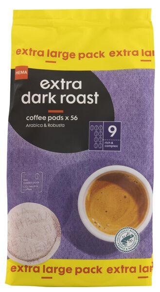 HEMA 56 Dosettes De Café Extra Dark Roast