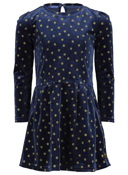Kinder-Kleid blau 98/104 - 30809439 - HEMA