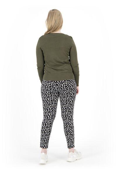 women's trousers black black - 1000019220 - hema