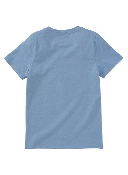 kinder-t-shirt blau - 1000012361 - HEMA