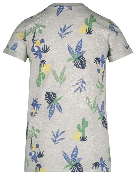children's T-shirt grey melange grey melange - 1000018868 - hema