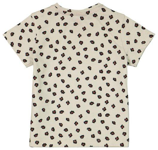 Baby-T-Shirt, Leopardenmuster eierschalenfarben 86 - 33030446 - HEMA