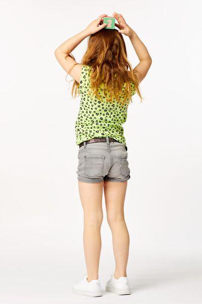 t-shirt enfant animal jaune jaune - 1000023626 - HEMA