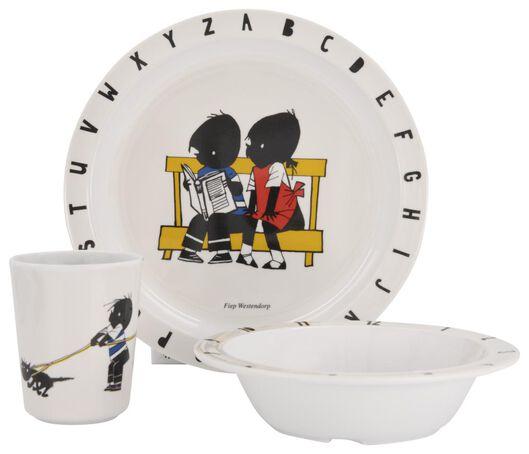 small bowl Jip and Janneke Ø 16 cm melamine - 80660041 - hema