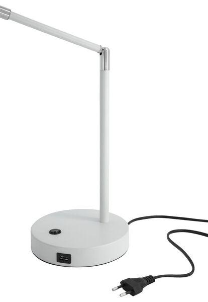 lampe de bureau avec port USB menthe - 39600181 - HEMA