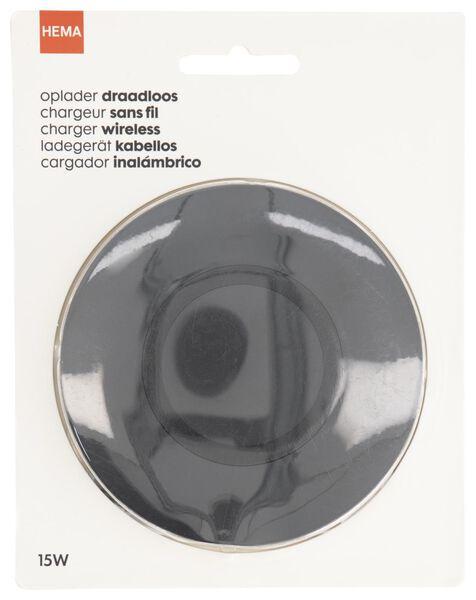 oplader draadloos 15W Ø10cm - 39630150 - HEMA