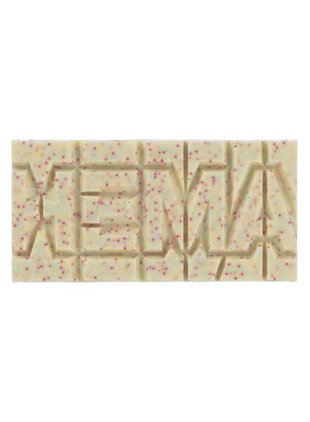 barre chocolat blanc - 10350026 - HEMA