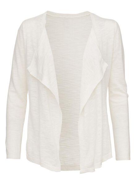 women's cardigan off-white off-white - 1000006825 - hema