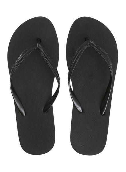 women's flip-flops black black - 1000006728 - hema
