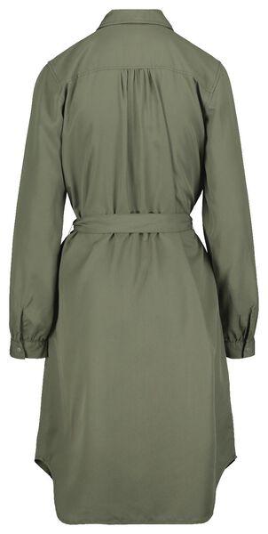 women's dress olive olive - 1000018685 - hema