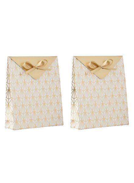 2 sacs cadeaux - 21 x 18 cm - 14700212 - HEMA