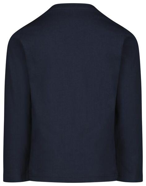 Kinder-Pyjama, Sport dunkelblau dunkelblau - 1000022780 - HEMA